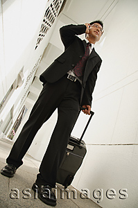 Asia Images Group - Businessman talking on mobile phone